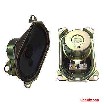 samsung tv speakers. speakers matched pair 32 ohms 1.5w oval ge tv samsung part 1509327a reference tv